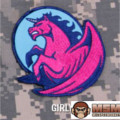 MSM Pegasus Unicorn Patch - Girly