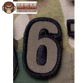 MSM Tac-Number 6 Patch - Forest