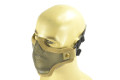 NOB Steel Dual Headband Half Face Mask (Skull)