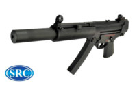 SRC MP5 SR5-SD4 SMG AEG (Black)