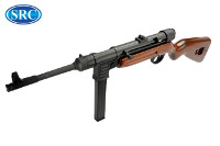 SRC Real Wood MP41 EBB AEG SMG (Black, Wood)