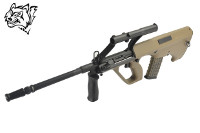 Snow Wolf Steyr AUG A1 AEG Bullpup Rifle (Tan)