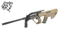 Snow Wolf Steyr AUG A2 AEG Bullpup Rifle (Tan)