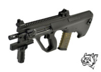 Snow Wolf Steyr AUG AEG Rifle (Black)