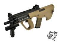 Snow Wolf Steyr AUG AEG Rifle (Tan)