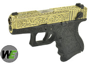 WE Classic Pattern G26 GBB Pistol (Bronze slide / Black Frame)