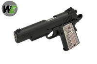 WE USMC M45A1 GBB CQB Pistol (Black)