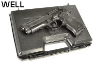 WELL M9/92F GBB Pistol w/ Pistol Case (Black)