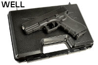 WELL G17 Gen4 GBB Pistol w/ Pistol Case (Black)