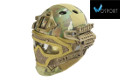 WOSport G4 System PJ Fast Helmet With Steel Mask (Multicam)