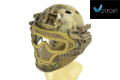 WOSport G4 System PJ Fast Helmet With Steel Mask(Highlander)