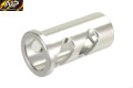 AIP CNC Al Recoil Spring Guide Plug For HI-CAPA 4.3 GBB (Silver)