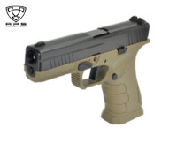 APS XTP Shark Metal Slide Gas GBB Pistol (Dark Earth)