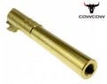 COWCOW OB1 5.1 SS CNC Stainless Steel Threaded Outer Barrel (GD)