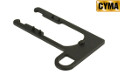 CYMA Metal Left Sling Loop Plate For AK Series AEG Rifle (Black)