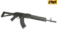 CYMA MOE / ZHUKOV Style AKM AEG Rifle w/ Fixed Stock (Black)