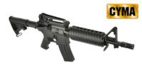 CYMA M4A1 CQB Rifle AEG (CM509, Black)
