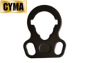 CYMA Steel 2 hook Sling Mount for M4/M16 AEG Rifle (Black)