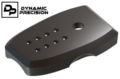 Dynamic Precision CNC Aluminium Mag Baseplate for TM MP9 (Black)
