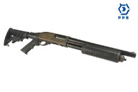 PPS M870 Gas Shell Eject Pump Action Shotgun (AR Stock & Grip)
