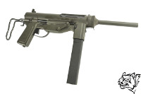 "Snow Wolf M3 ""Grease Gun"" EBB SMG (Black)"