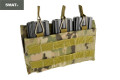 SWAT CORDURA Single Stack Triple 556 Magazine Pouch (Multicam)