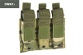 SWAT Single Stack Triple Pistol Magazine Pouch (Multicam)