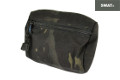 SWAT CORDURA Small MOLLE Zipper Utility Pouch (Multicam Black)