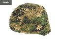 SWAT MICH-2000 Camouflage Helmet Cover (Digital Woodland Camo)
