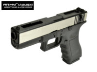 ARMY G18C Full-Auto GBB Pistol (2-Tone , No Marking Version)