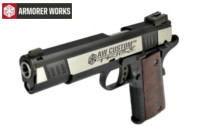 Armorer works Iconic 1911 GBB Pistol (2-Tone)