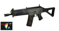 GHK SIG SG 553 CUSTOM GBB Rifle (Dark Grey)