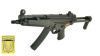 Golden Eagle MP5A5 AEG SMG (Black)