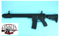 G&P Gas Blowback-49 Long GBB Rifle (Black)