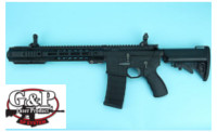 G&P Gas Blowback-49 Short GBB Rifle (Black)