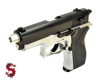 LS 6904 4006 NBB Pistol (Black and Silver)