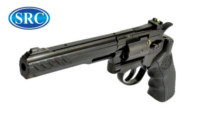 SRC Titan 6 Inch Barrel 6mm Swing Out CO2 Revolver (Black)
