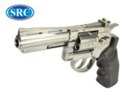 SRC Titan 4 Inch Barrel 6mm Swing Out CO2 Revolver (Silver)