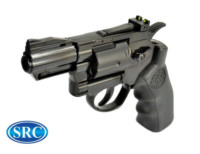 SRC Titan 2.5 Inch Barrel 6mm Swing Out CO2 Revolver (Black)