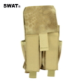 SWAT 1000D Molle Tactical Pouch for M4/Handgun (Kryptek Nomad)