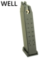 WELL G17 Gen4 GBB 24 rounds Gas Magazine (Black)