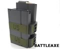 Battleaxe 1000rd Auto-Wind Dual Magazine for M14 AEG (Battery)