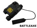 BATTLEAXE AN/PEQ-15 Aiming Device (Laser + LED Flashlight ; BK)