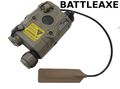 BATTLEAXE AN/PEQ-15 Aiming Device (Laser + LED Flashlight ; DE)