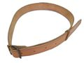 "Retro 2"" WW II Hard Leather Belt (1 Hole)"