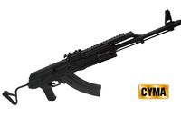 CYMA AIMS PMC AK Blow Back AEG (Foldable METAL Stock ; BK )