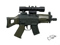 Double Eagle SIG 552 Mini-Shot Electric Airsoft Gun (M93B;OD)