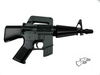 Double Eagle M16A1 Mini-Shot Electric Airsoft Gun (M94B)