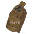 FLYYE MOLLE Strobe Pouch(Coyote Brown)