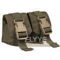 FLYYE Double Fragmention Grenade Pouch(RangerGreen)